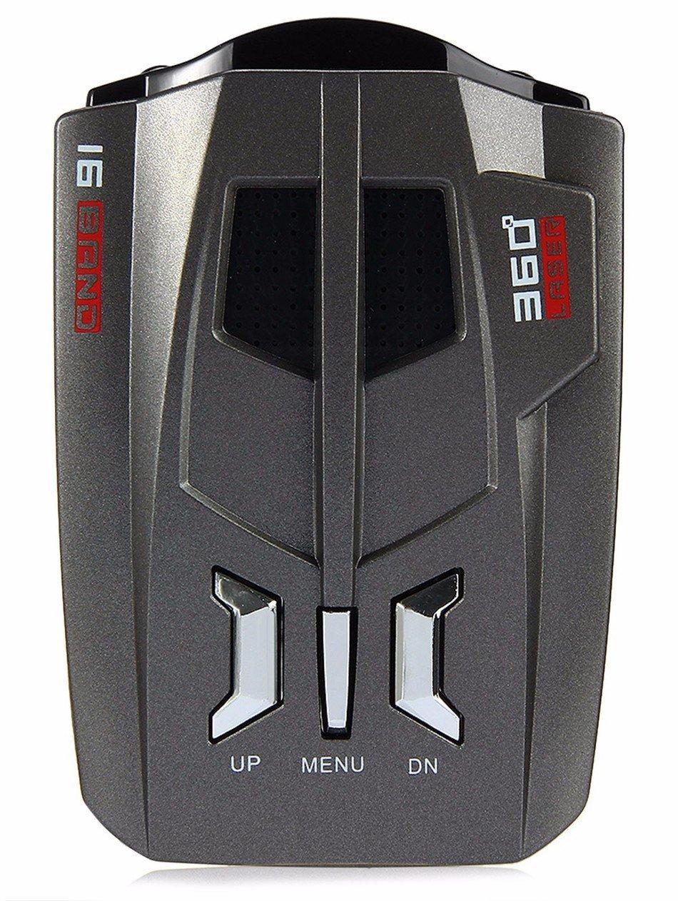 Radar Detector Laser Car Speed Led Display Voice Alert Warning Fully 16 Bands Receiver Alarm System And Security