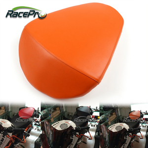 Leather Motorcycle Passenger Rear Seat For KTM DUKE 390 2013 2014 2015