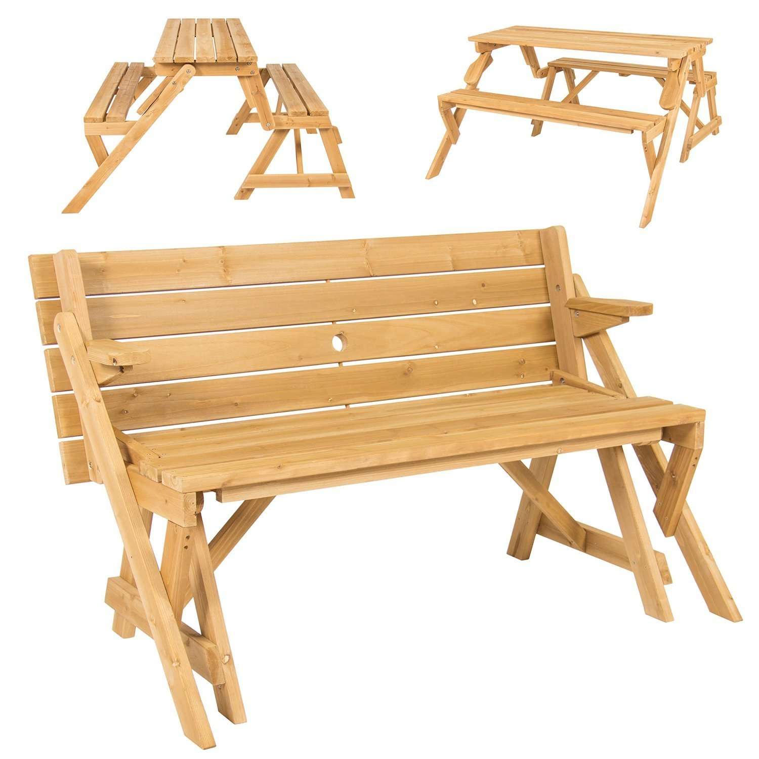 dp folding amazon garden outdoors uk picnic in table bench co outsunny convertible