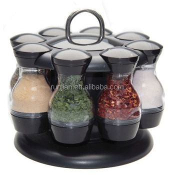 8 JARS Kitchen ROTATING Plastic Spice rack HOLDER 100ml Seasoning box  sc 1 st  Alibaba : plastic spice storage containers  - Aquiesqueretaro.Com