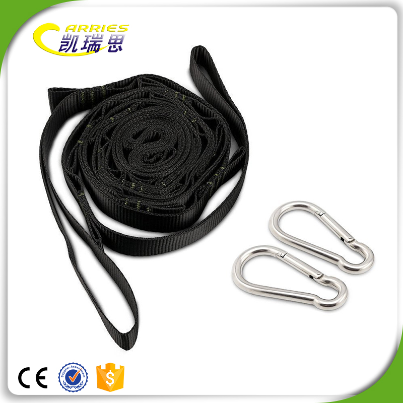 Portable Camping Heavy duty swing strap, tree swing hanging strap