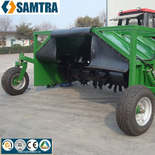 Landbouwtractor towable <span class=keywords><strong>compost</strong></span> turner machine