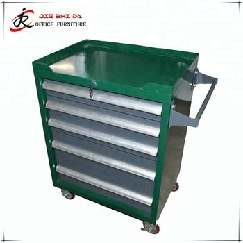 5294135ef3e 7 drawer 5 drawer aluminium kraftwelle germany tool trolley cabinet Tool  cabinet workshop workbench metal work