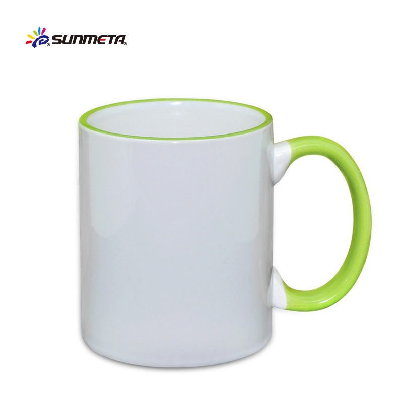 sublimation mugs wholesale, sublimation blanks cups and mugs, handle & inside color mugs
