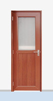 Glass+ louver, pvc bathroom door price,glass thickness range from 4mm to 30mm