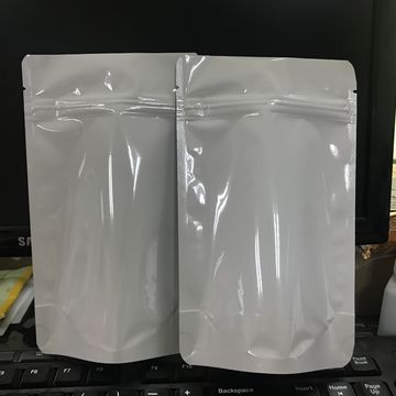 High Quality White Stand Up Plastic Bag 11