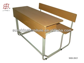 Middle School Student Desk And Chair Combo For High