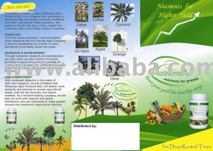 Nutreeno Palm Oil Nutrient Fertilizer