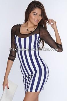 0ae78d59e6019 Striped Pattern Sexy Pakistani Women Dresses - Buy 2013 Evening ...