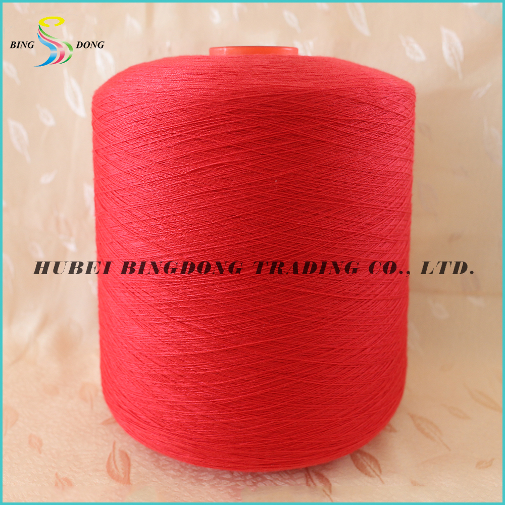 Yizheng fiber make 100% polyester staple yarn 60/2