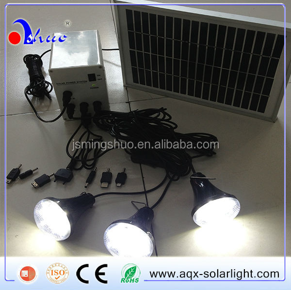 12 hours lighting portable solar lighting system for rural area,poor countries,Islands