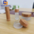 2018 New Bamboo Lid Wood Cosmetic Lipstick Tube Bottle,Cosmetic Packaging Set Dropper Bottle