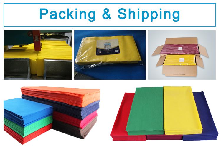 40Grams Disposable Pp Non Woven Clothing Fabric For Nonwoven Tablecloth