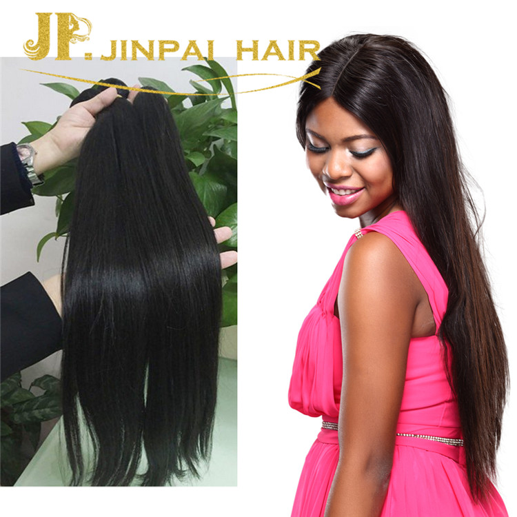 JP 2017 Fashional Style Straight Unprocessed 8A Grade Virgin Chinese Hair