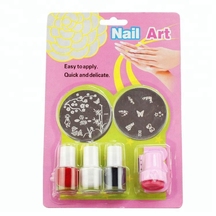 Nail Art Stampaggio Maker Lustro Alla Moda Set Starter Kit NS007
