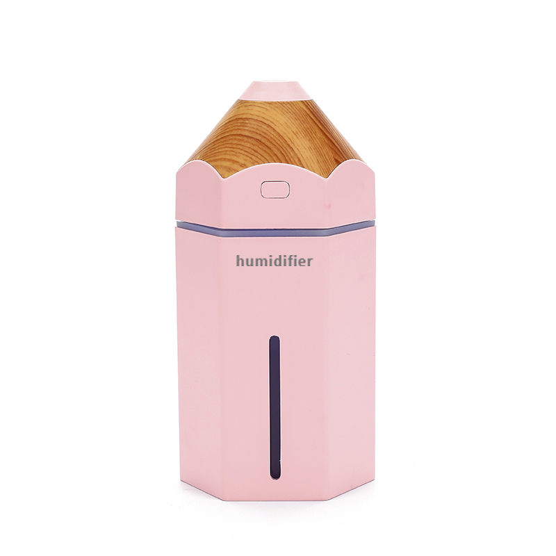 Newest Product USB Mini Cool Mist Car Air Humidifier Air Cooler And Heater Cute Pencil Humidifier