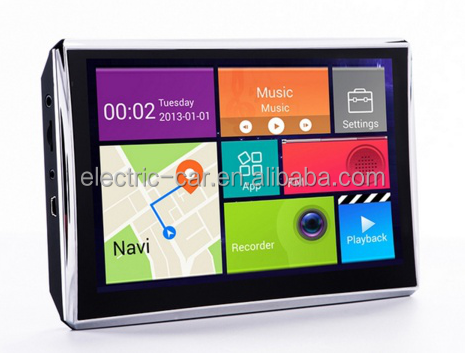 Customized High-end configuration, driving record, reversing image 7inch ,AV IN ,Bluetooth ,dvd Android car GPS navigation