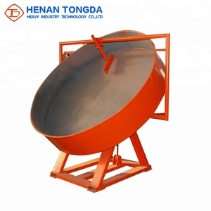 Henan Tongda High Quality and Stable Working's Disc Granulator / Disc Fertilizer Granulator