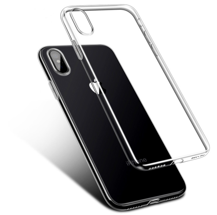 Soft Silicone Transparent Ultra Thin TPU Mobile Phone Case <strong>Cover</strong> for iPhone X/ XS/ XS plus