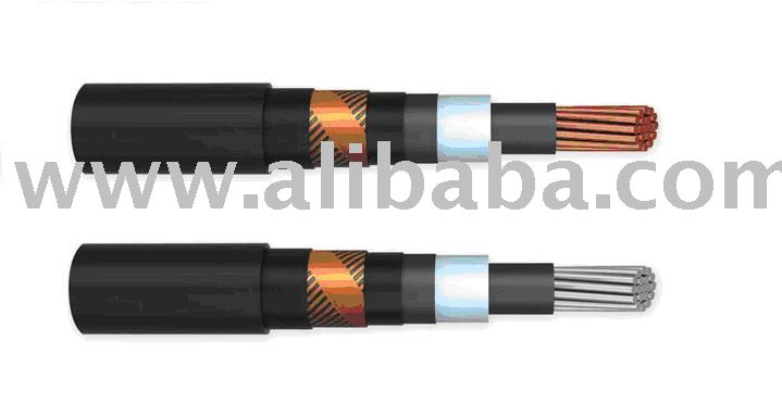 Power cables with sheathing of PVC with reduced inflammability and fire risk type PVS EVng Voltage 6, 10, 35