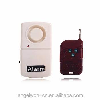 Jendela Getaran Sensor Alarm Remote Control Alarm Pintu Terbuka Rumah Alat  Pengaman (putih) - Buy Pintu Alarm,Getaran Sensor Alarm,Rumah Alat Pengaman