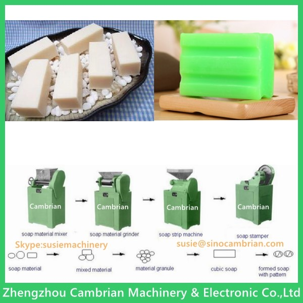 Durable 200mm roller diameter soap making machine with low price