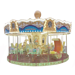 Children game amusement ride hot sale backyard merry go round for sale
