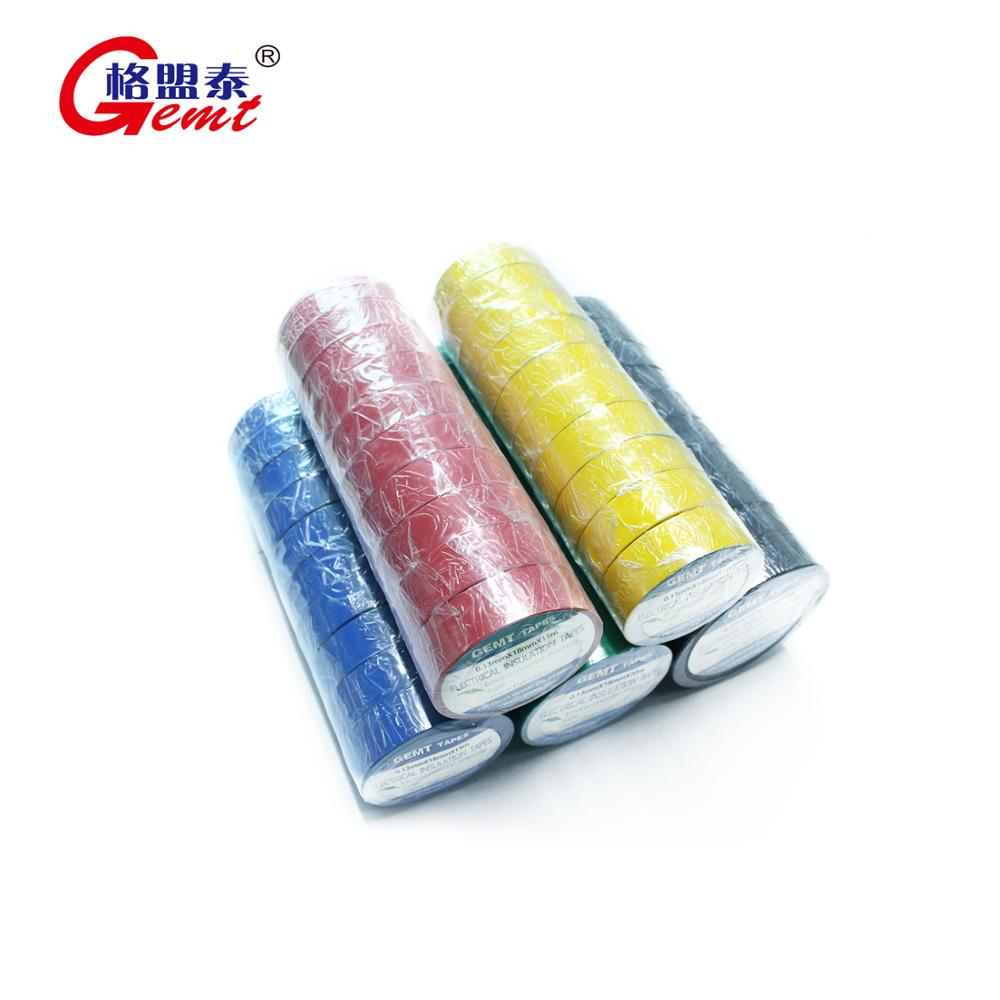 PVC insultaion tape 와 competitive price electrical PVC tape 절연