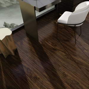 Composite wood class 32 dark oak e0 ac1 easy install flooring Chinese laminate floor Urumqi, xinjiang 52006