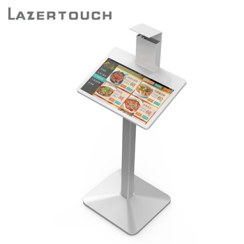 21 inch Android restaurant ordering machine self service , virtual touch screen wifi tablet self service order and bill payment