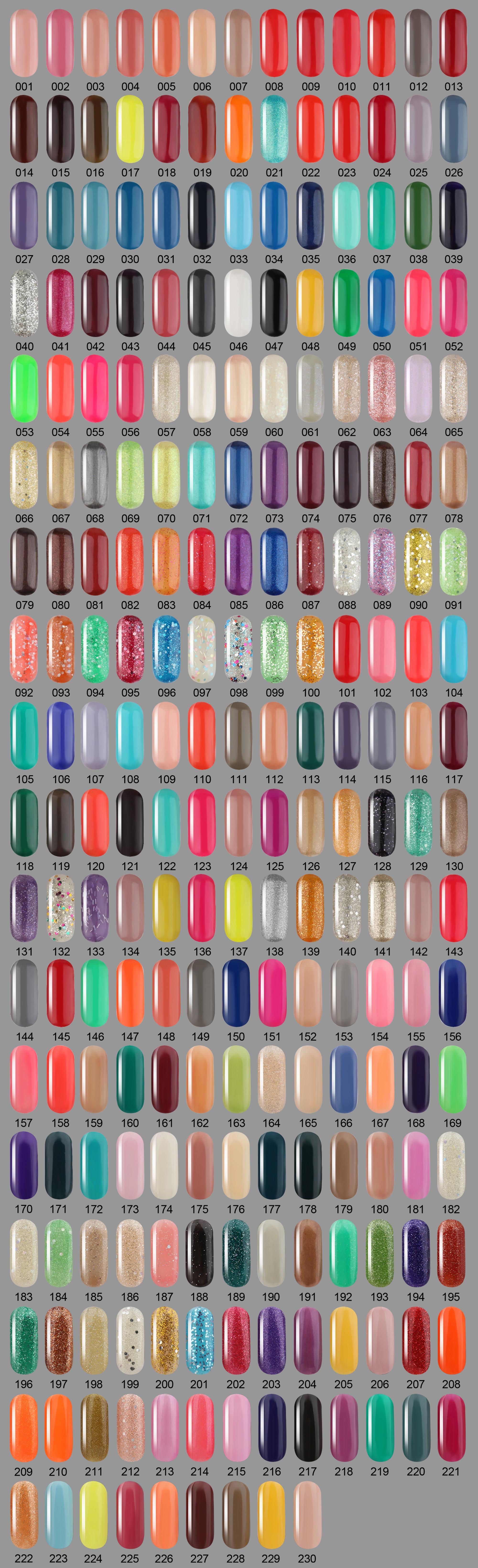 b93bd2c8f37 2019 Wholesale 300 Gel Colors Easy Soak Off Nail Gel Polish Semi Permanent  Gel Varnish Primer