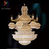 Emergency Luxury crystal chandelier for decorate hotel pandent lighting