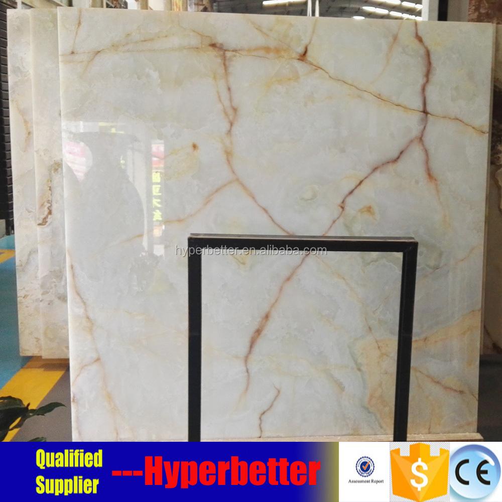 Snow White Onyx Marble Tiles Product On Alibaba