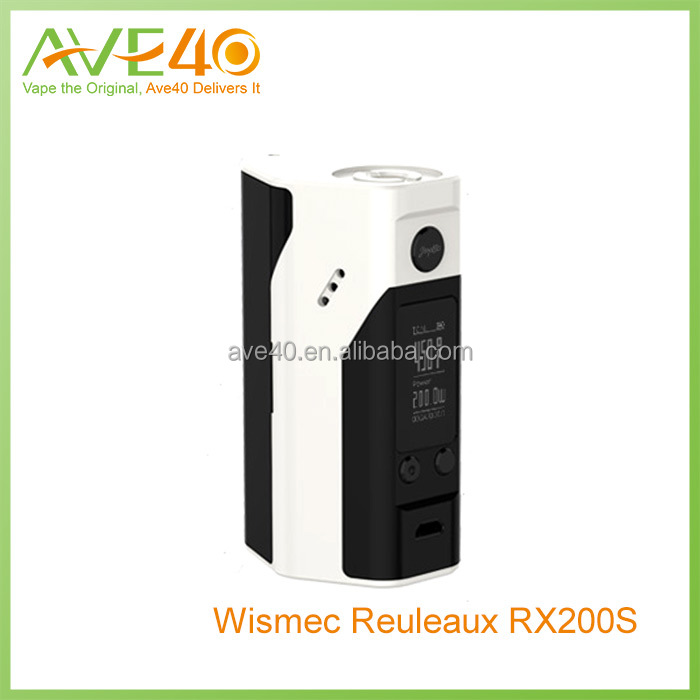 Wismec new coming 200w box mod wismec Reuleaux RX200S VS Wismec RX200