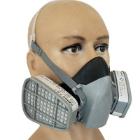 Economy style protective breathable particulate respirator mask with filter