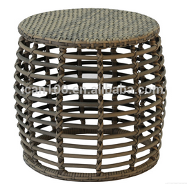 Commercial garden furniture outdoor wicker dining table