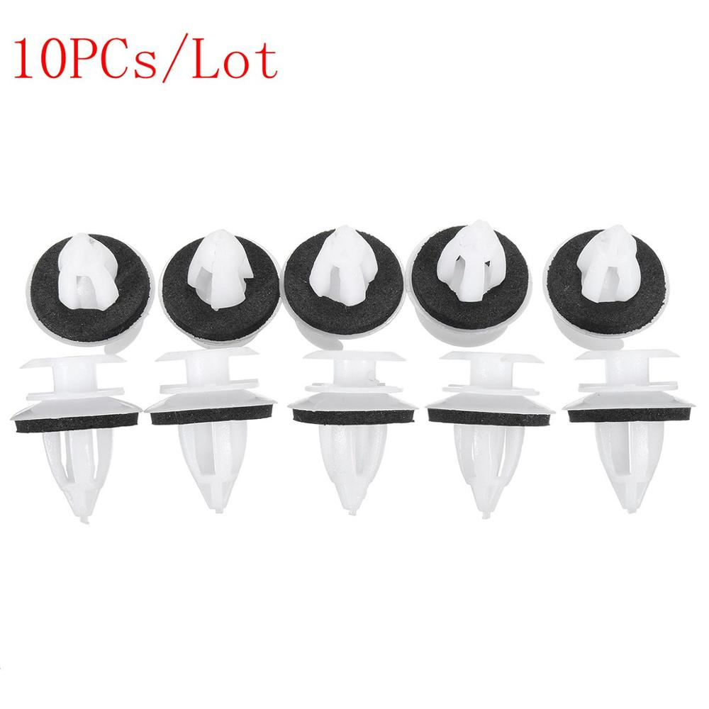 New 10Pcs Universal Useful Plastic Car Auto Interior Door Trim Clips Card Door Panel Clips For BMW BE36 E38 E39 E46 X5 M3 M5 Z3