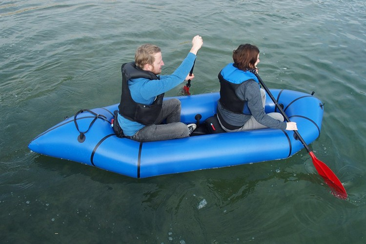 2015 light inflatable pack raft for 1 or 2 person