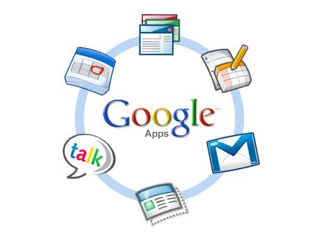 Google Apps Services which includes Gmail, Google Docs and other software products