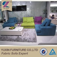 Stocked in china soft general use diwan sofa sets