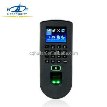 Fingerprint entrypass wireless access control reader with keypad(HF-F19)