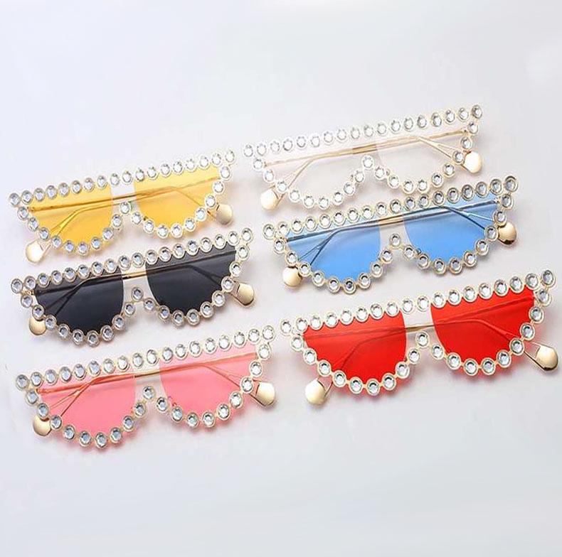 Cat-eye brand women sun shade glass 2019 fashionable sunglasses hot sell well in USA фото