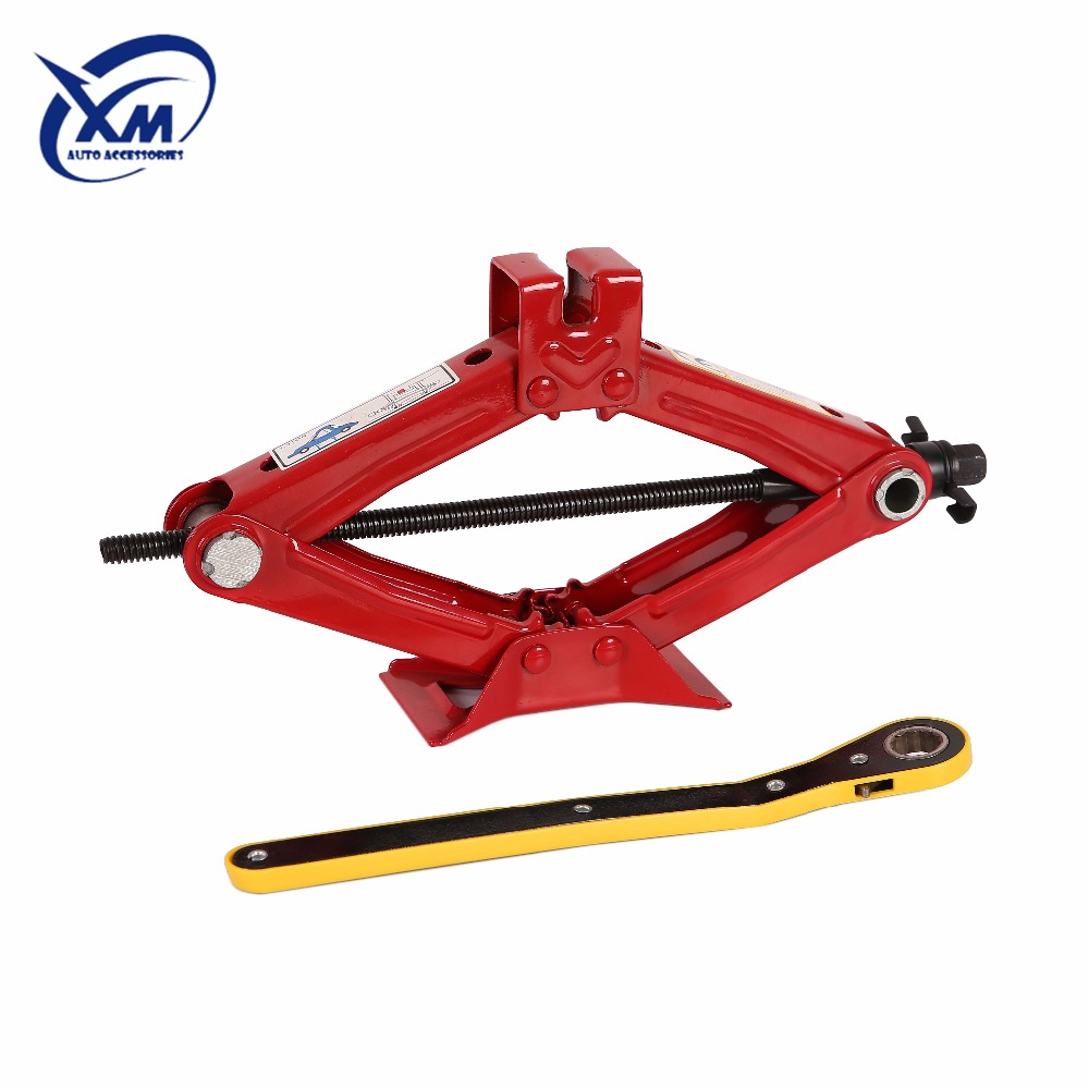 Rhombic heavy duty steel scissor jack/GS and TUV certified car jack
