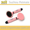 New design Stainless Steel Pin Pet Brush with soft handle