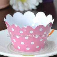 Good choice for printed cupcake wrapper for bachelorette party supplies