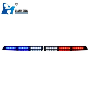 Interior car emergency security visor led strobe light for vehicles