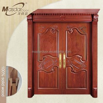 Stylish main entrance wooden door designs double door 2016 for Main door designs 2016