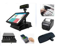 Top touch screen waterproof wireless bar/restaurant/coffee shop/ supermarket pos system With Stable Function
