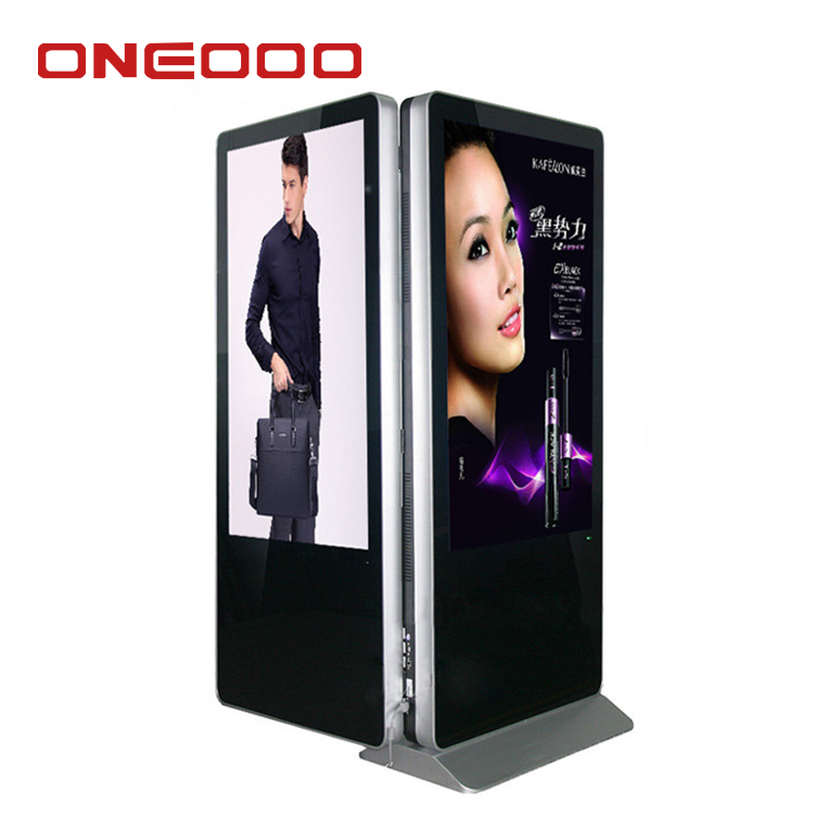 Guangzhou OEM good quality double sided digital signage
