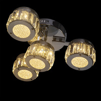 Modern Suspension Stairs Crystal Ceiling Light Led Ceiling Lamp ...
